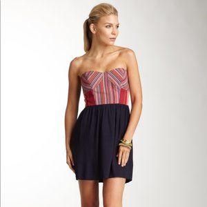 Greylin | Strapless Mini Dress | Multi